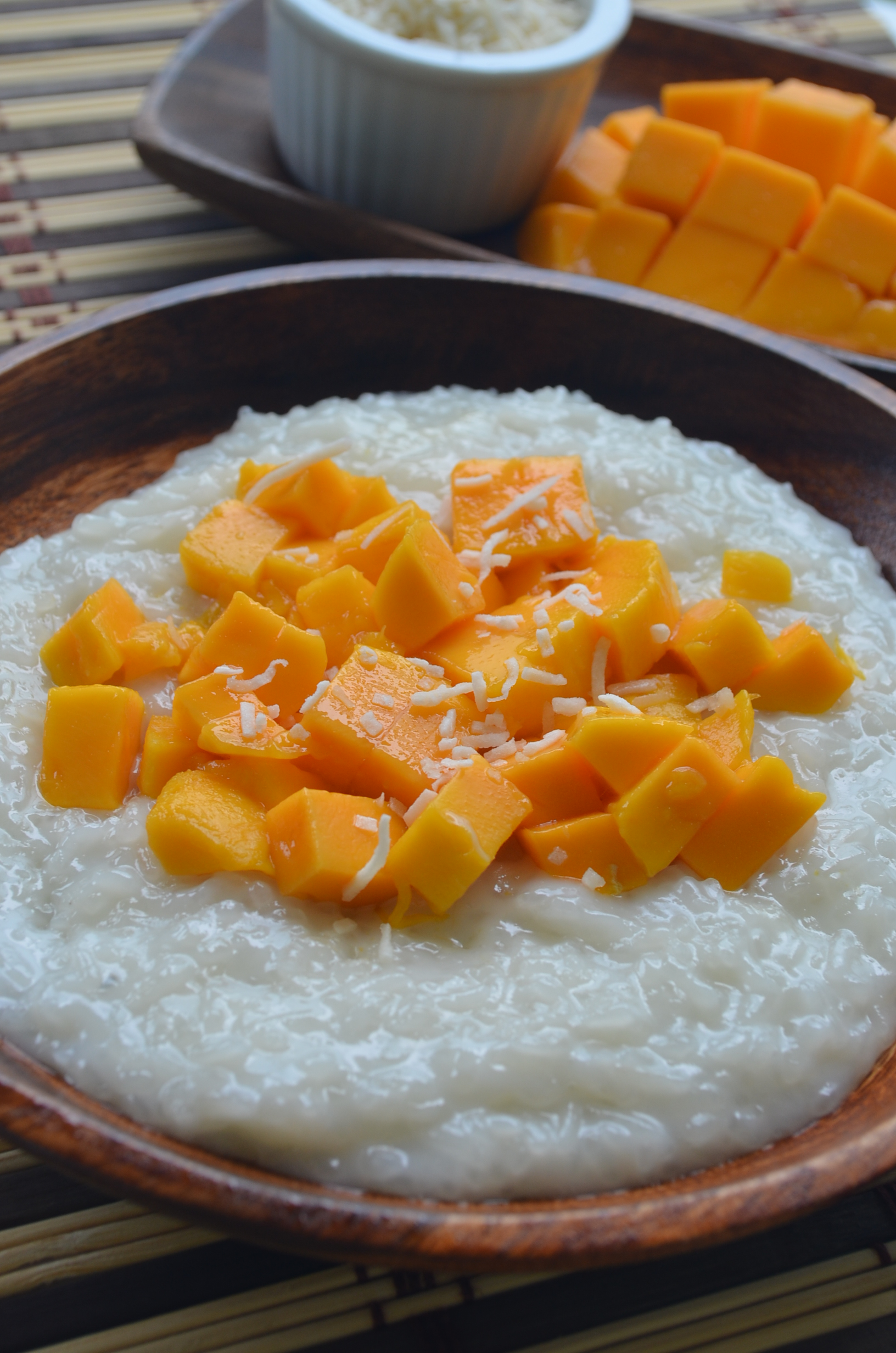 Coconut Milk Mango Sticky Rice