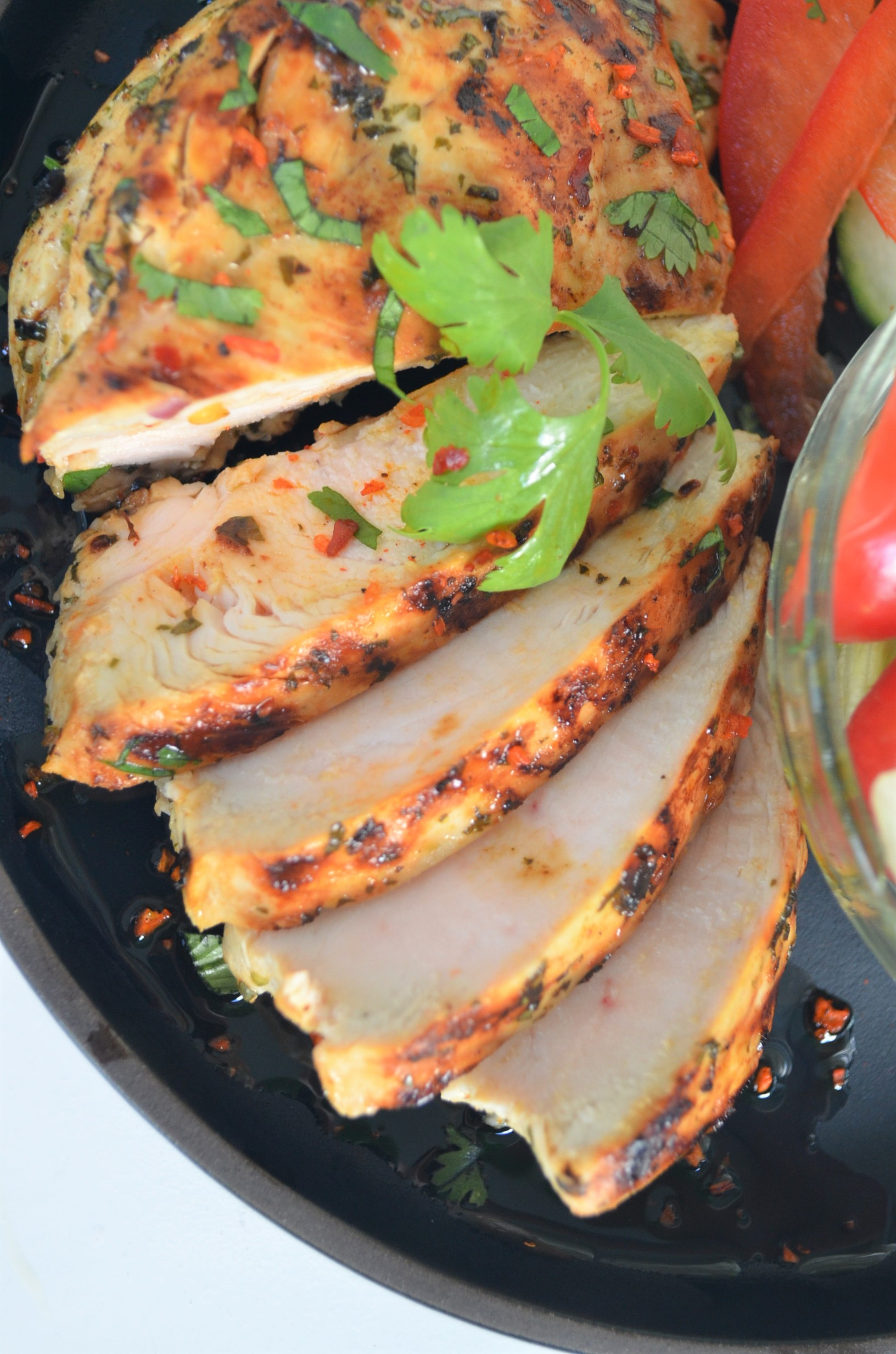 Grilled Cilantro and Lime Chicken By SweetNSpicyLiving.com