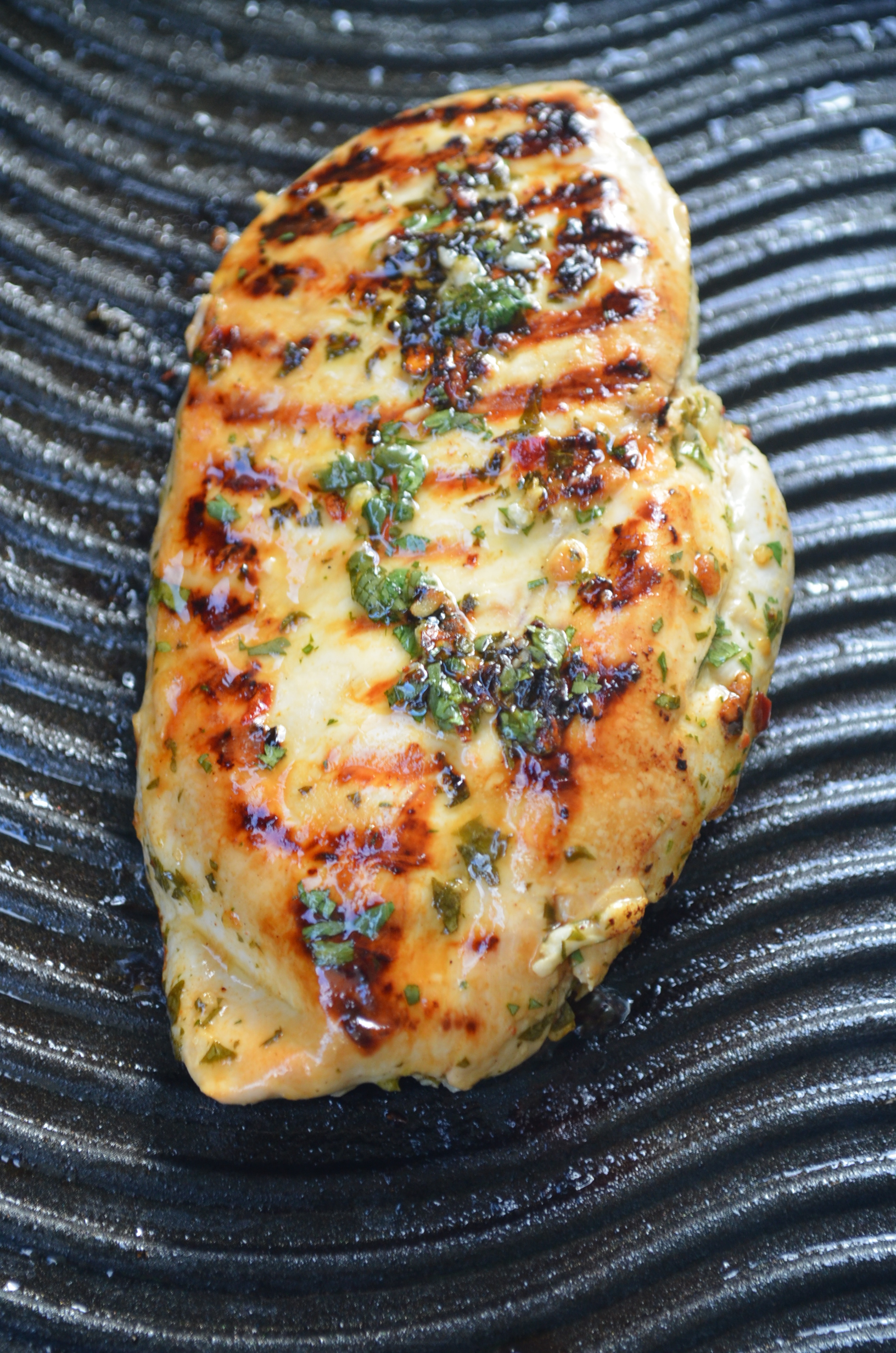 Grilled Cilantro Lime Chicken Recipe