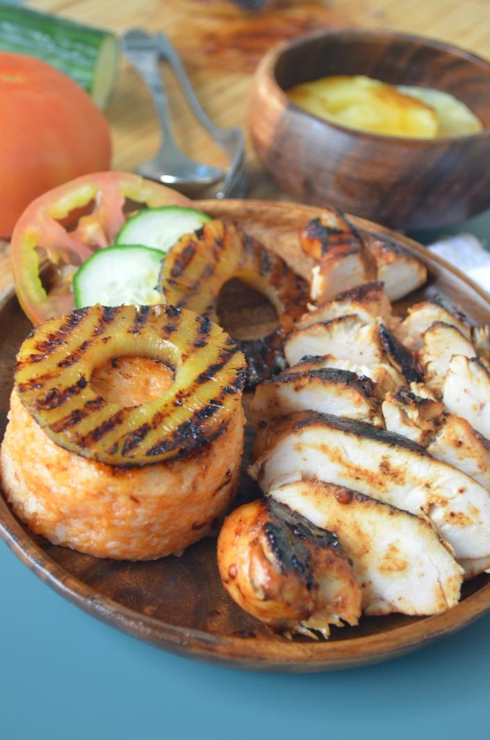 Hawaiin BBQ Chicken By SweetNSpicyLiving.com
