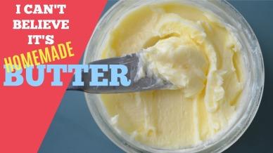 Homemade Butter 6