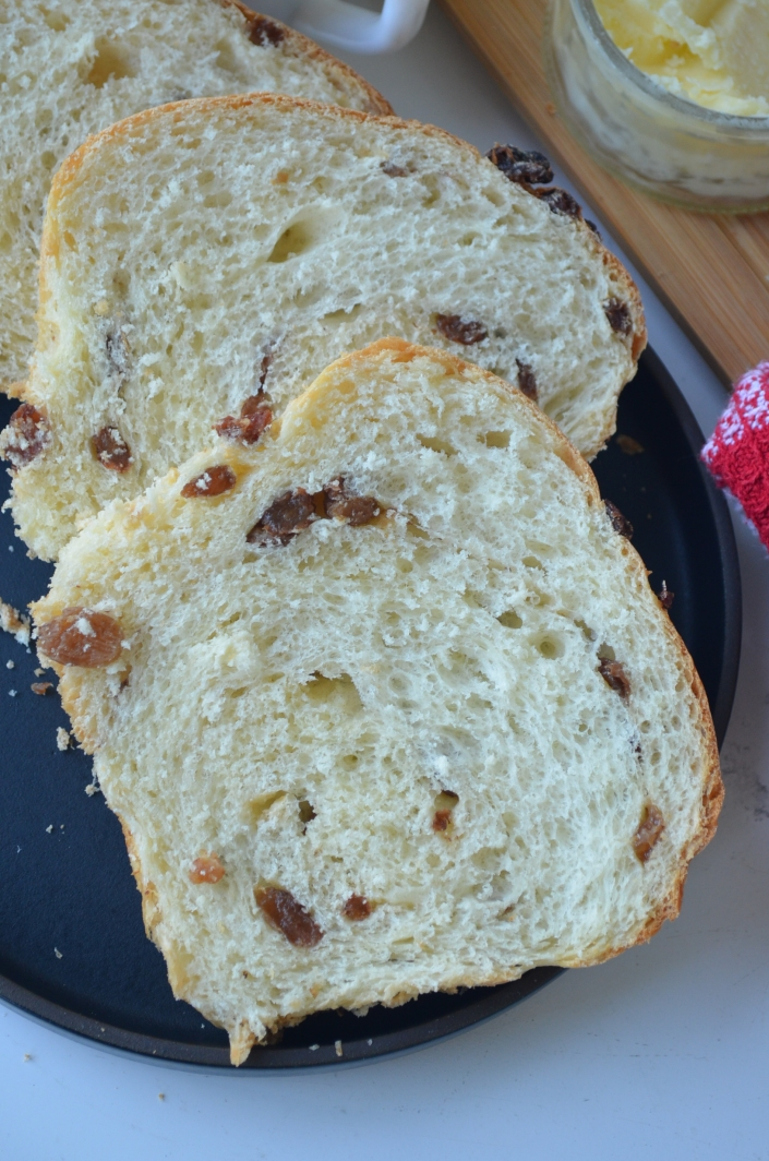 Honey Raisins Bread