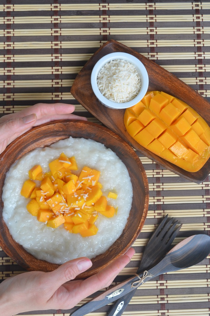 Mango Sticky Rice By SweetNSpicyLiving.com