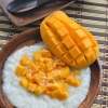 Mango Sticky Rice Pudding by SweetNSPicyLiving.com