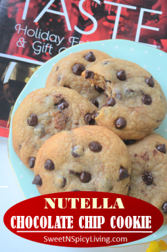 Nutella Chocolate Chip Cookie2