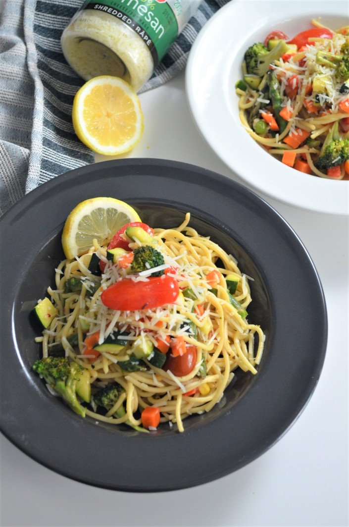 Pasta Primavera Recipe By SweetNSpicyLiving.com