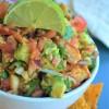 Shrimp and Avocado Salsa By SweetNSpicyLiving.com