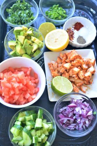 Shrimp and Avocado Salsa