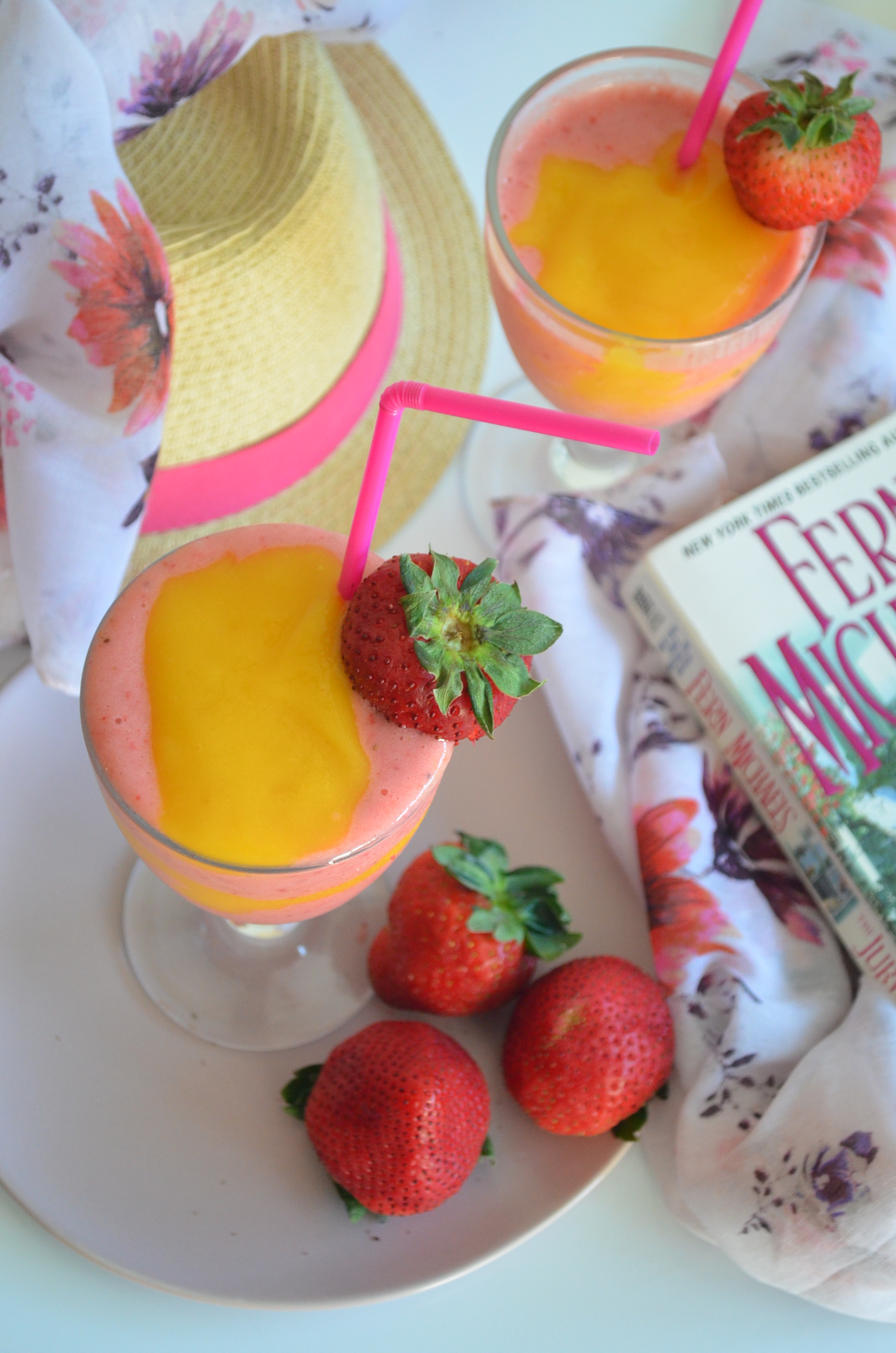 Strawberry Mango Slushie