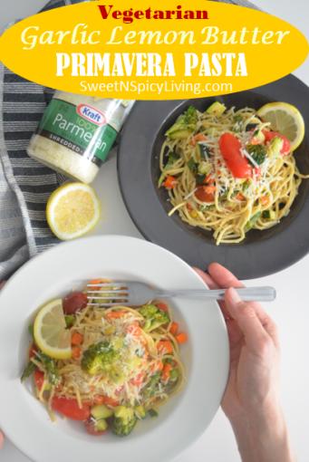 Vegetarian Primavera Pasta