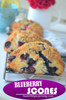 Blueberry Scones 2