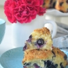 Blueberry Streusel Scones By SweetNSpicyLiving.com