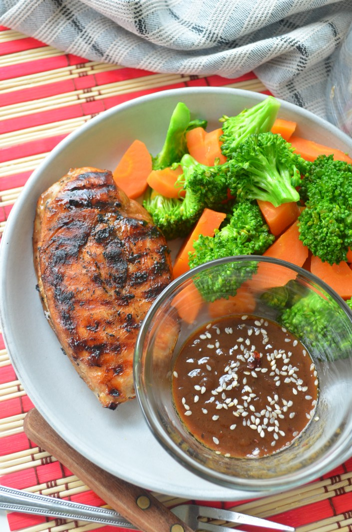 Easy Grilled Teriyaki Chicken Recipe