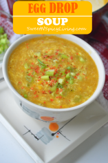 Egg Drop Corn Soup 1