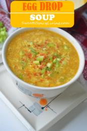Egg Drop Corn Soup 1