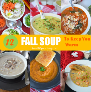 Fall Soup Collage