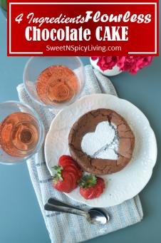 Flourless Chocolate Cake 1