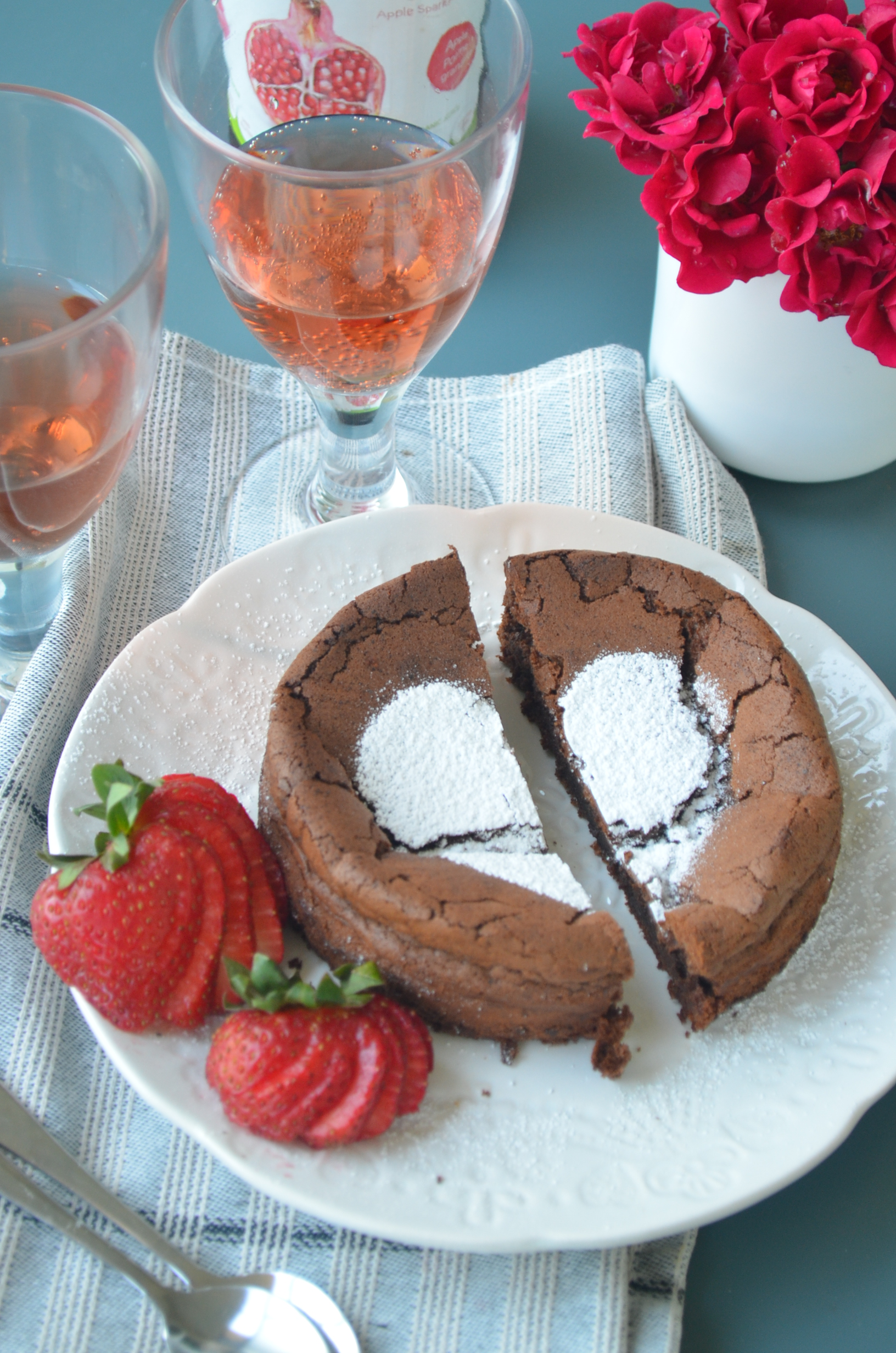 Flourless Chocolate Cake By SweetnSpicyLiving.com