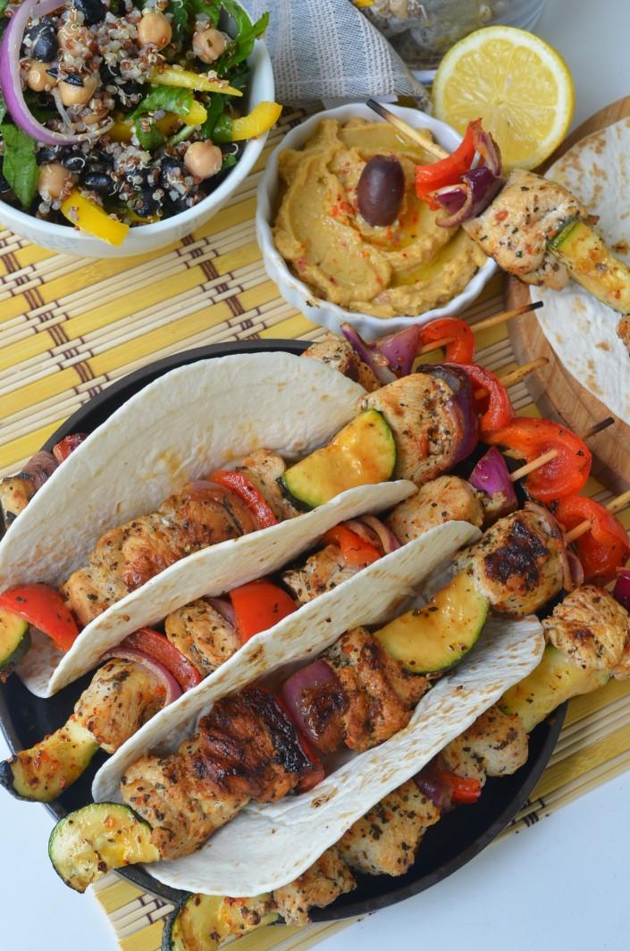 Greek Style Grilled Chicken