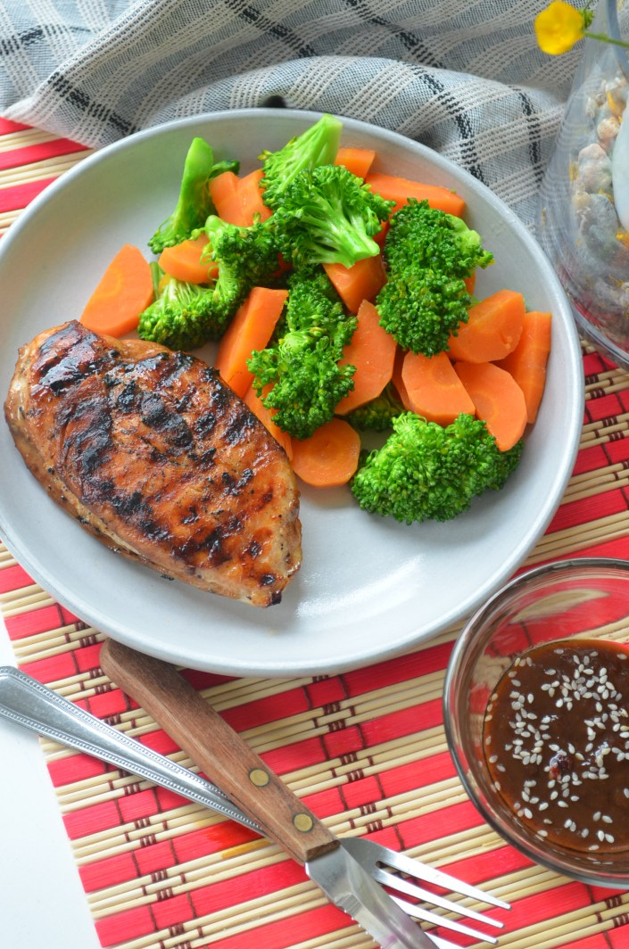 Marinated Grilled Teriyaki Chicken Breasts Recipe