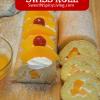 Peaches and Cream Swiss Roll Cake2