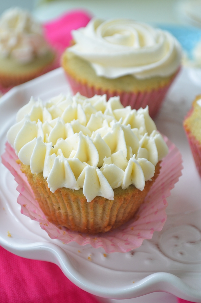 Small Batch Grean Tea Cupcakes Recipe By SweetnSpicyLiving.com