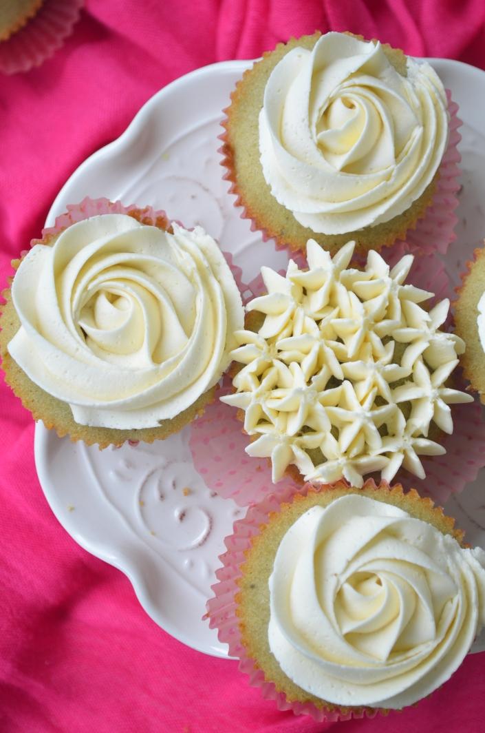 Small Batch Green Tea Cupcakes