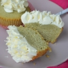 Small Batch Matcha Cupcakes