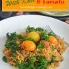 Spaghetti Squash with Kale andTomato