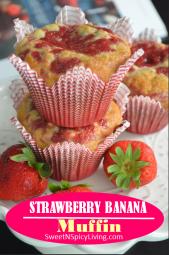 Strawberry Banana Muffins 3