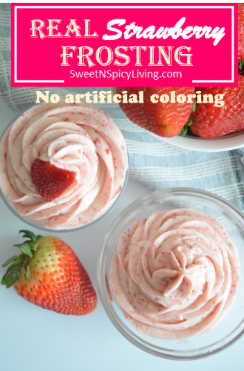 Strawberry Frosting