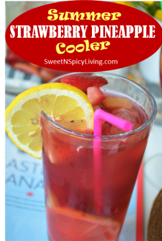 Strawberry Pineapple Cooler 1