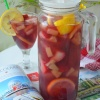 Strawberry Pineapple Cooler