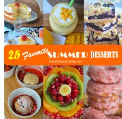 Summer Dessert Collage 3