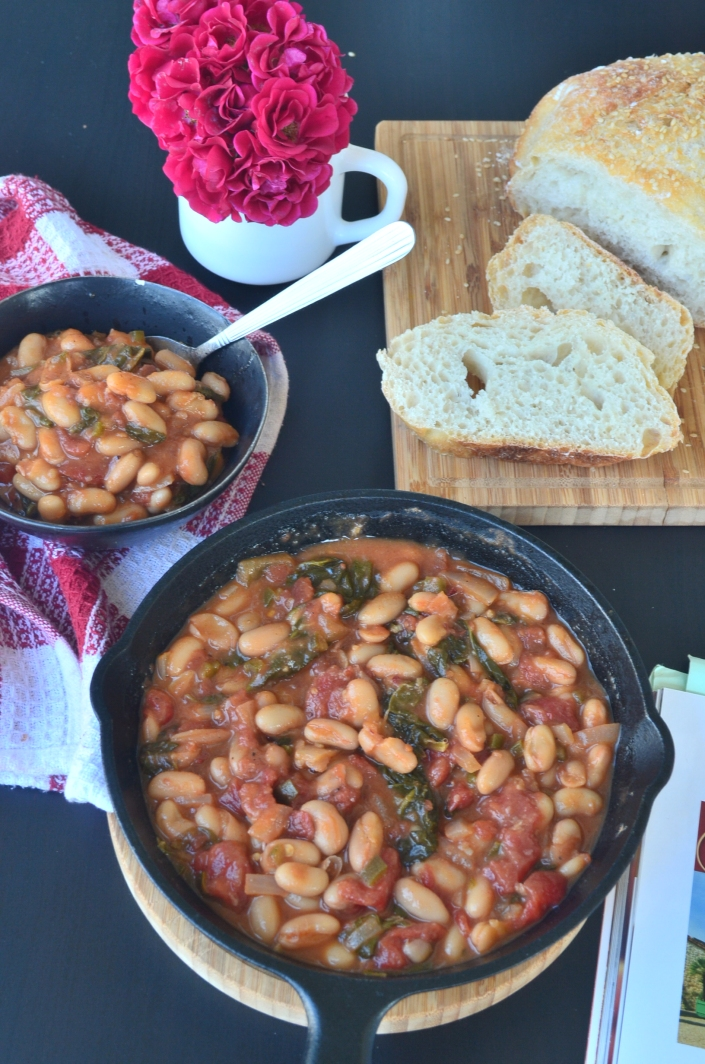 White Beans and Spinach Stew