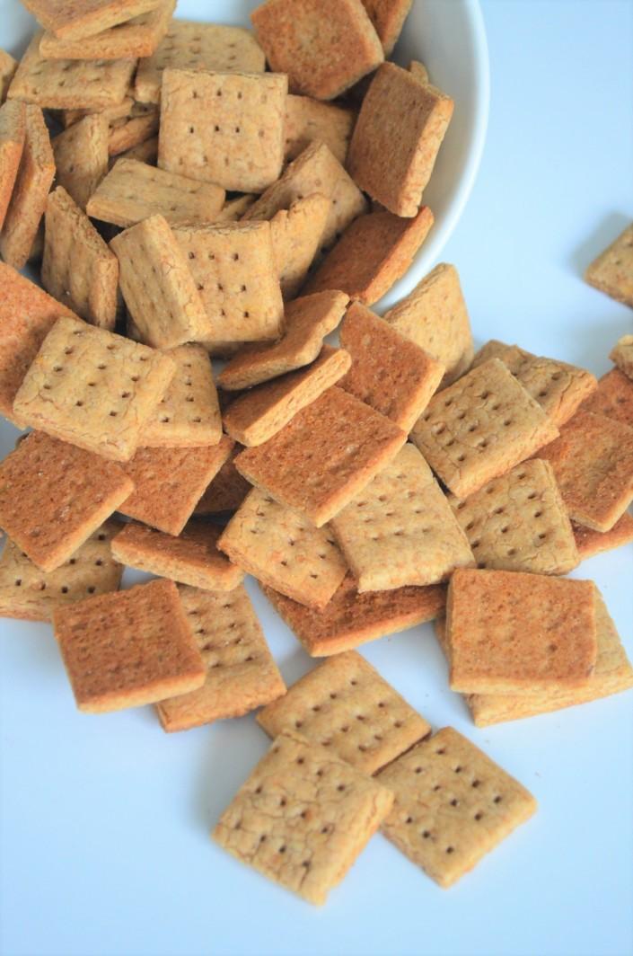 Bite Size Graham Biscuits