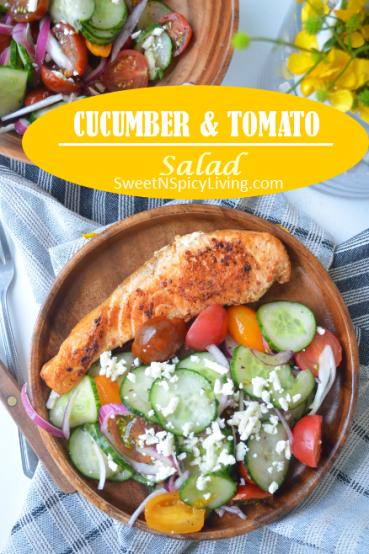 Cucumber Tomato Salad 3