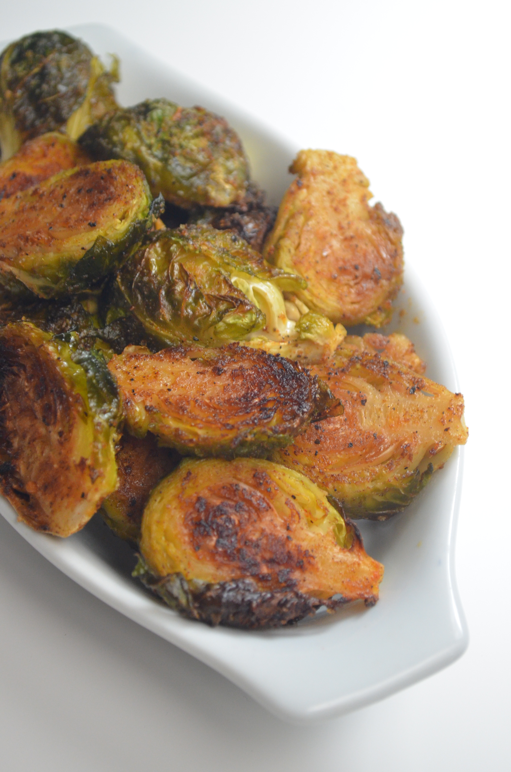 Garlic-Roasted Brussels Sprouts Recipe By SweetNSpicyLiving.com
