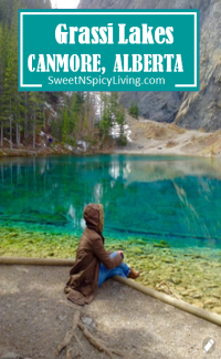 Grassi Lakes Canmore Alberts