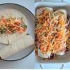 Omelette Enchilada Collage