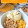 Peaches and MangoesCrisp