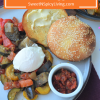 Ratatouille with Poached Egg andToast
