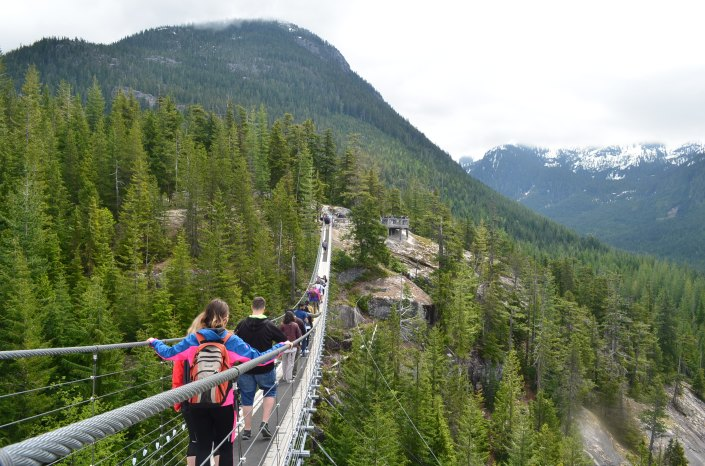 Sea To Sky Pilot Suspension Bridge Squamish BC