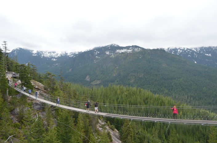 Sea To Sky Pilot Suspension Bridge Squamish