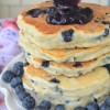 Small Batch Blueberry Pancakes