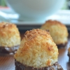 Small Batch Chocolate Dipped Coconut Macaroons