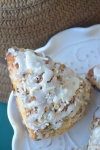 Small Batch Coconut Raisins Cream Scones