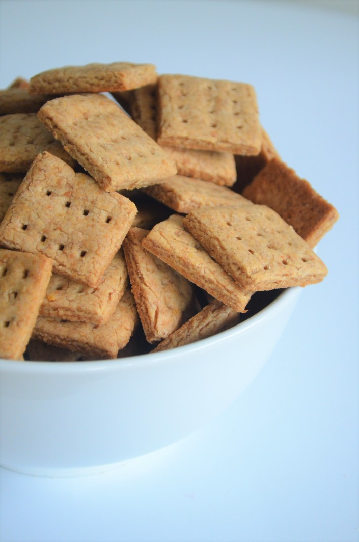 Mini Graham Crackers Recipe By SweetNSpicyLiving