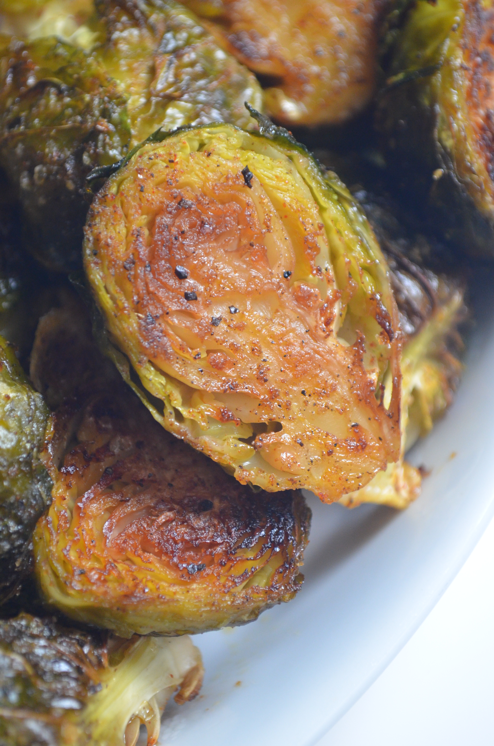 Small Batch Roasted Brussels Sprouts With Garlic Recipe