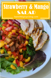 Strawberry and Mango Salad
